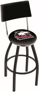 Univ of Northern Illinois Swivel Back Bar Stool