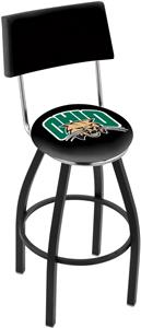 Ohio University Swivel Back Bar Stool