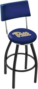 University of Pittsburgh Swivel Back Bar Stool