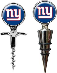 NFL New York Giants Cork Screw & Bottle Topper