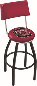 University of South Carolina Swivel Back Bar Stool