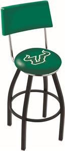 University of South Florida Swivel Back Bar Stool