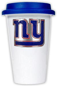 NFL New York Giants Ceramic Cup with Blue Lid