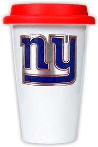 NFL New York Giants Ceramic Cup with Red Lid