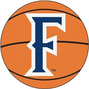 Fan Mats Cal State Fullerton Basketball Mat