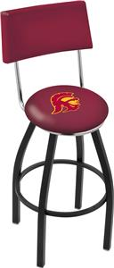 Univ of Southern California Swivel Back Bar Stool