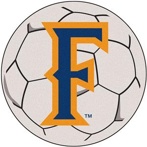 Fan Mats Cal State Fullerton Soccer Mat