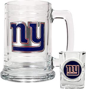 NFL New York Giants Boilermaker Gift Set