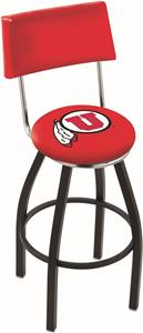 University of Utah Swivel Back Bar Stool