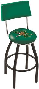 University of Vermont Swivel Back Bar Stool