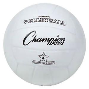 Champion Sports Official Rubber Volleyballs