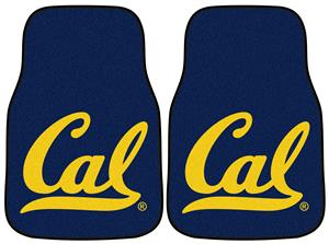 Fan Mats UC Berkeley Carpet Car Mats (set)