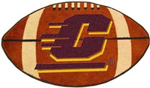 Fan Mats Central Michigan University Football Mat