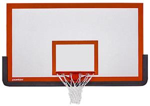 Wood Basketball Backboard w/ Fan Mount Centers