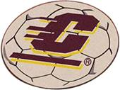Fan Mats Central Michigan Univ Soccer Ball