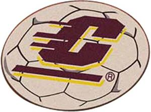 Fan Mats Central Michigan Univ Soccer Ball