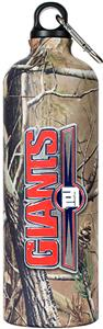 NFL New York Giants 32oz RealTree Water Bottle