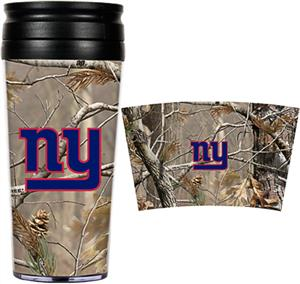 NFL New York Giants 16oz Realtree Travel Tumbler