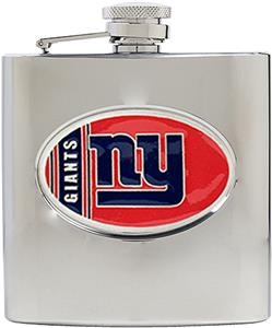 NFL New York Giants 6oz Stainless Steel Flask