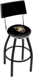 US Military Academy Swivel Back Bar Stool