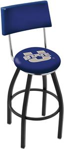 Utah State University Swivel Back Bar Stool
