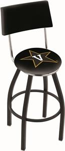 Vanderbilt University Swivel Back Bar Stool