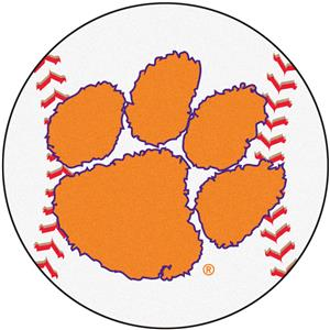Fan Mats Clemson University Baseball Mat