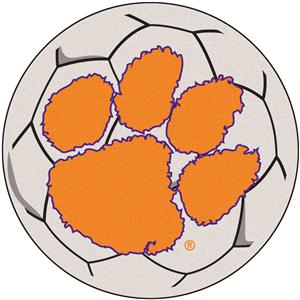 Fan Mats Clemson University Soccer Ball