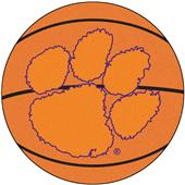 Fan Mats Clemson University Basketball Mat