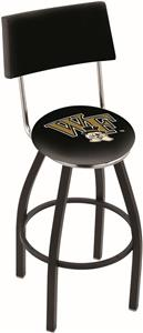 Wake Forest University Swivel Back Bar Stool
