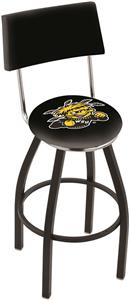 Wichita State University Swivel Back Bar Stool