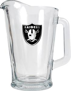 NFL Oakland Raiders 1/2 Gallon Glass Pitcher