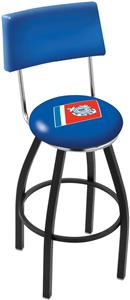 United States Coast Guard Swivel Back Bar Stool