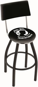 Holland POW/MIA Swivel Back Bar Stool