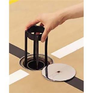 """Porter Floor Sleeve Adapter - 3-1/2"""" - 3"""" Dia."""