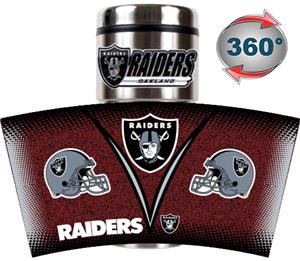 NFL Oakland Raiders Tumbler (Logo & Team Name)