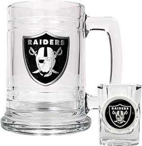 NFL Oakland Raiders Boilermaker Gift Set