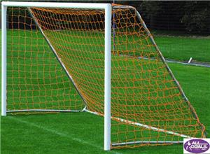 "All Goals 4'6""x9' U-6 Round Aluminum Soccer Goals"