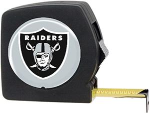 NFL Oakland Raiders 25' Tape Measure with Logo