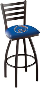Boise State University Ladder Swivel Bar Stool