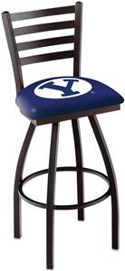 Brigham Young University Ladder Swivel Bar Stool