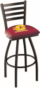 Central Michigan Univ Ladder Swivel Bar Stool