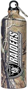 NFL Oakland Raiders 32oz RealTree Water Bottle
