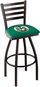 Colorado State University Ladder Swivel Bar Stool