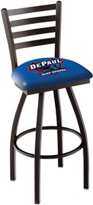 DePaul University Ladder Swivel Bar Stool