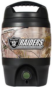 NFL Oakland Raiders 1 gal Realtree Tailgate Jug