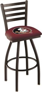 Florida State Head Ladder Swivel Bar Stool