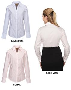 TRI MOUNTAIN Rossmoore Women's Striped Dress Shirt