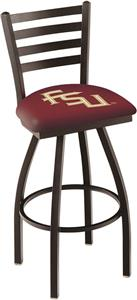 Florida State Script Ladder Swivel Bar Stool