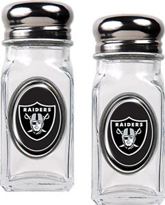 NFL Oakland Raiders Salt and Pepper Shaker Set